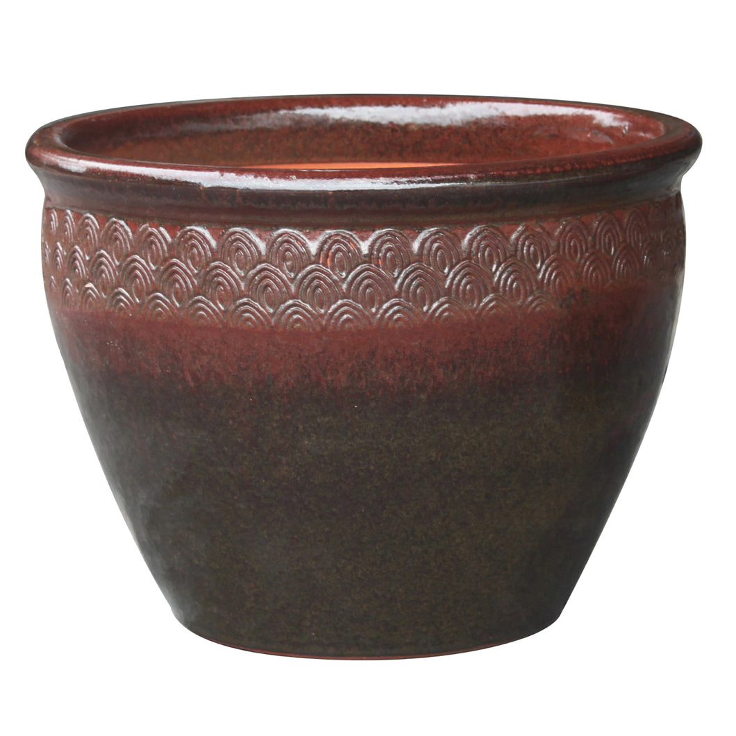 Peacock Majestic Planter 6.25