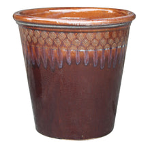"Load image into Gallery viewer, Peacock Sasha Planter 12.25"" Diameter"
