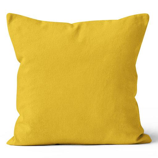 Rave Solid Mustard Indoor Pillow 17