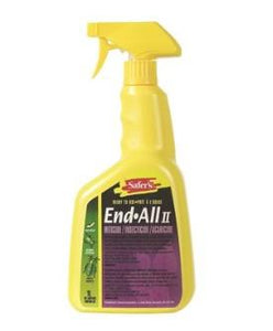 Safer's End-All II Miticide / Insecticide Ready to Use - 1L