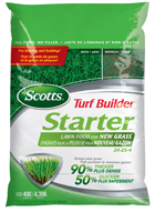 Scotts TB Starter Lawn Food for New Grass 24-25-4 4.7kg/320m2