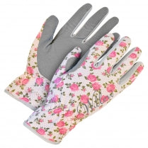 Willow Pink/Green/White Floral  - Women's Garden Gloves