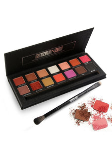 Professional 14 Colors Matte Electric Pro Eyeshadow Palette