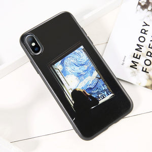 moskado Art Patterned Phone Cover For iPhone 11 X XR XS Max Soft Silicone TPU Back Case For iPhone 6S 7 8 7Plus Fashion Shell