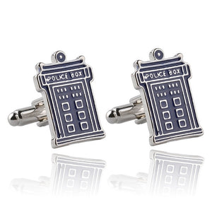 Trendy Luxury Crown Square Cufflinks Cross Cufflonks I Love You My Wife Dad Enamel Tie Clip For Men Mens Jewelry Xmas Gift