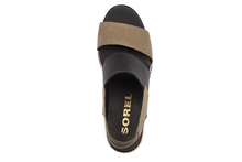 Load image into Gallery viewer, Women's Sorel Joanie II Slingback Jute Wedge Sandal