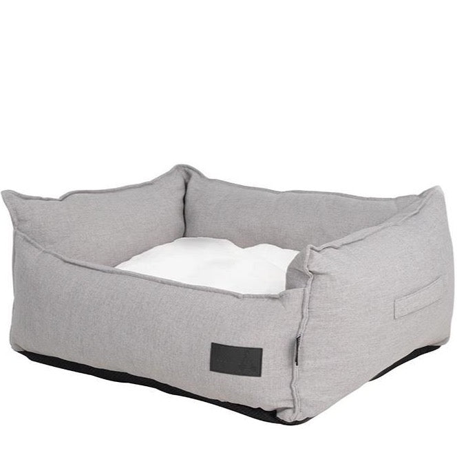 Linen Look LUXE Trim Stone Grey High Side Bed