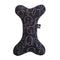 NEW! Dog Central Black Toy Bone with Squeaker
