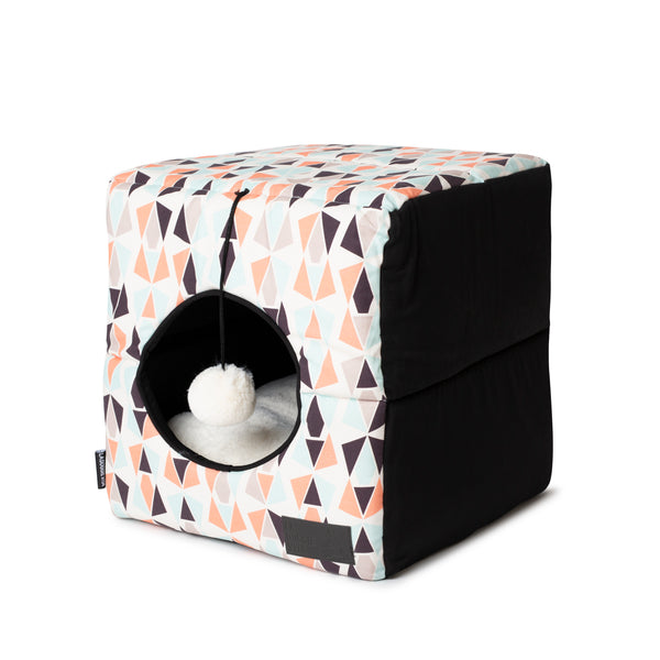 Geo Foldable Cat Cube