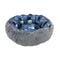 Go Fish Indigo Reversible Cat Donut