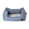 Water Resistant Slate High Side Square Bed