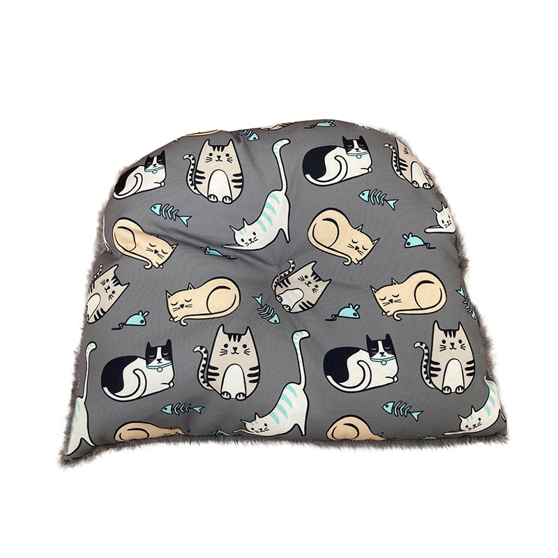 Kitten Around Hooded Cat House Cushion