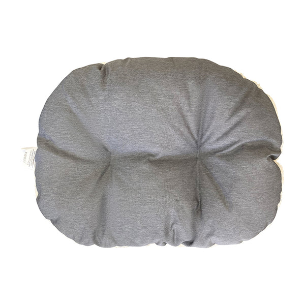 Water Resistant Grey High Side Shell Bed Cushion