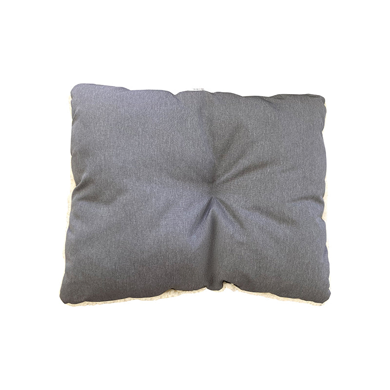 Water Resistant Dog Cube Grey Cushion