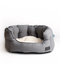 Water Resistant Grey High Side Shell Bed