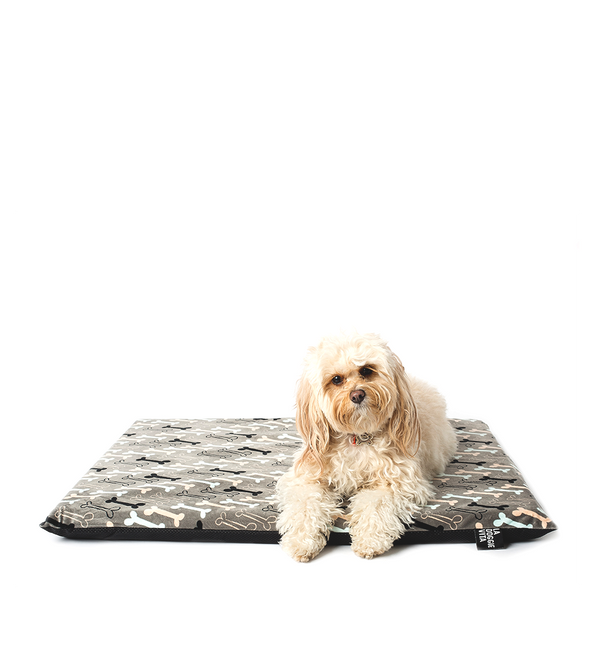 Boney Maloney Bone Print Dog Bed