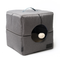 Water Resistant Nordic Foldable Grey Cat Cube Cushion