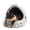 Kitten Around Hooded Cat House