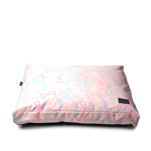 50% OFF! ON SALE! Neon Bone Pink Water Resistant Pillow Bed