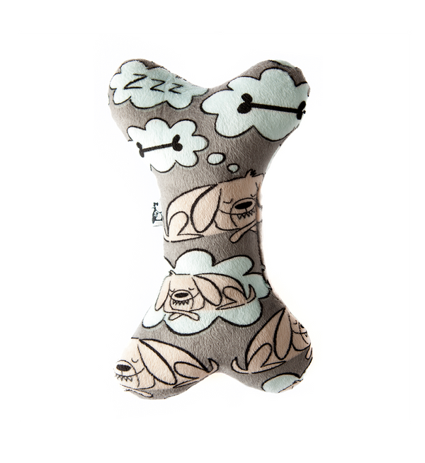 Sleeping Dog Plush Toy