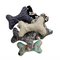 Dog Central Taupe Toy Bone with Squeaker