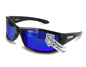 REGATTA   SHINY BLACK / BLUE MIRROR BI-FOCAL LENS