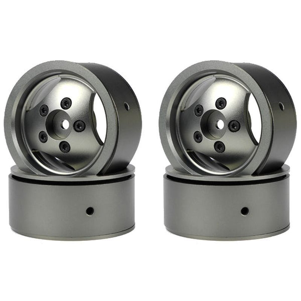 1.9 CNC Alloy 3-Spoke Beadlock Wheels for Range Rover Classic (4 PCS)