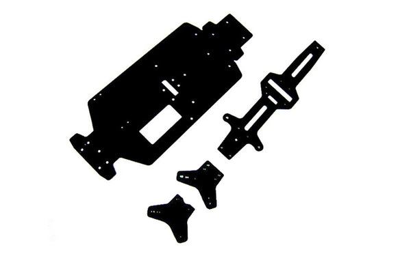GT14 B PRO FRP Chassis Plate Set