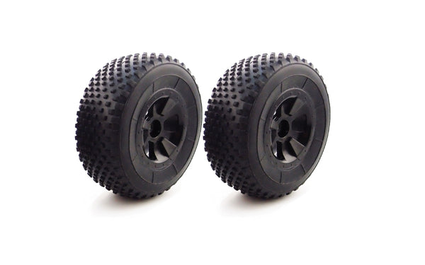 M40 B/DT Pre-glued Wheels & Tyres (x2)