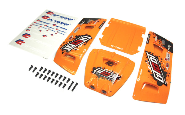 GT10 DT Painted & Decorated Body Panel Set