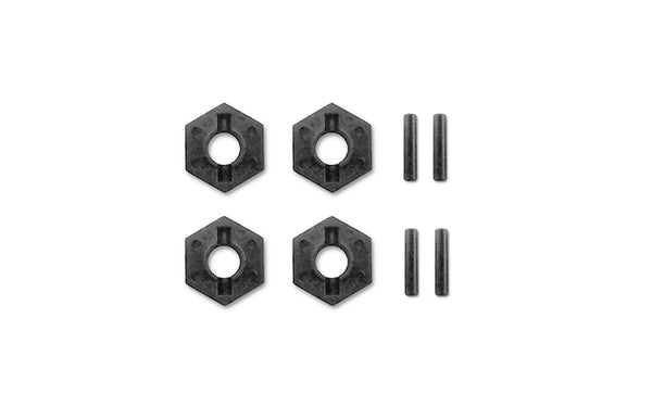 M10 DT Wheel Hex/Drive Pin Set