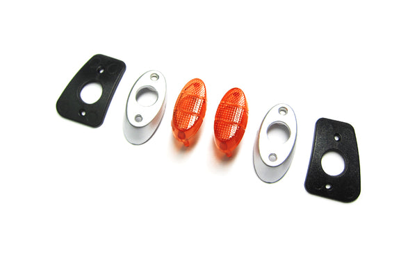 M10 DT Rear Light Lense and Mount Set
