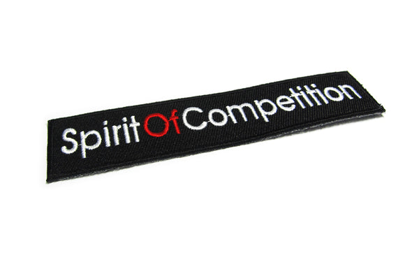 Spirit Of Competition Knitted Patch