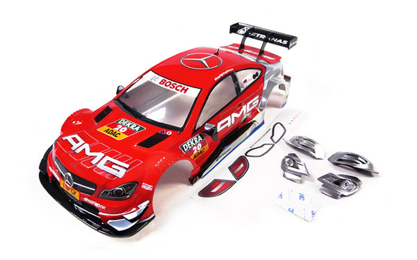 GT10 RS 1/10 Mercedes AMG C Coupe DTM 2014 #20 (Red) Painted Body