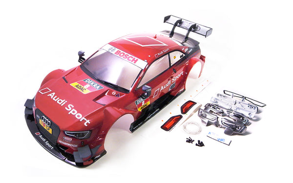 GT10 RS 1/10 Audi RS5 DTM 2014 #8 (Red) Painted Body