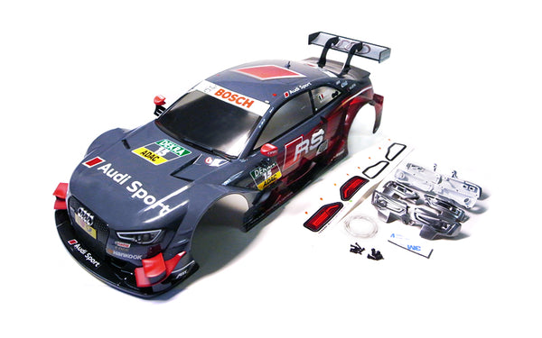GT10 RS 1/10 Audi RS5 DTM 2014 #15 (Grey) Painted Body