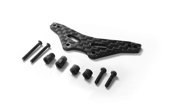 GT24 B Carbon Fibre Rear Shock Tower Set