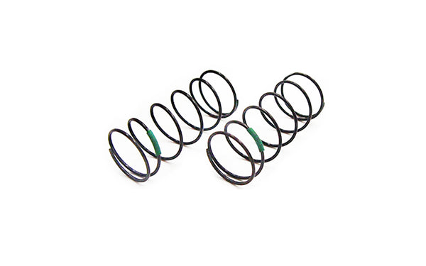 CR 4XS Shock Spring Front (Green) 3.15lbs