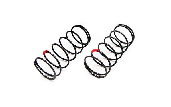 CR 4XS Shock Spring Front (Red) 4.38lbs