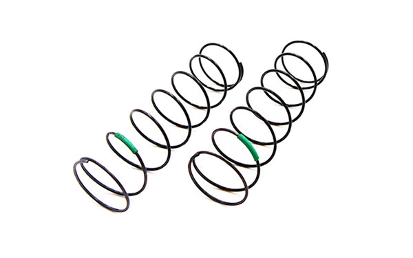 CR 4XS Shock Spring Rear (Green) 1.90lbs