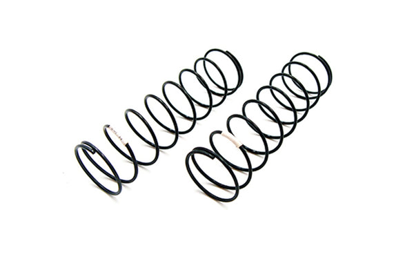 CR 4XS Shock Spring Rear (White) 2.25lbs