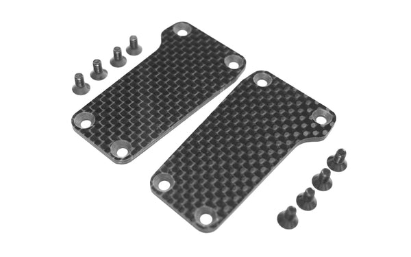 CR 4XS Carbon Fibre Rear Suspension Plates (x2)
