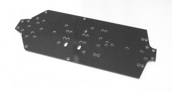 CR 4XS Carbon Fibre Main Chassis Plate
