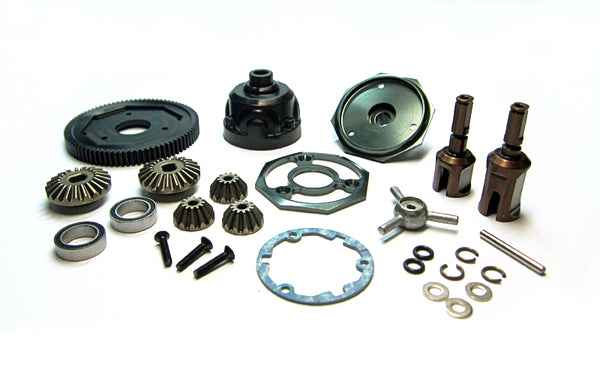 CR 4XS Bevel Gear Center Diff Parts Set