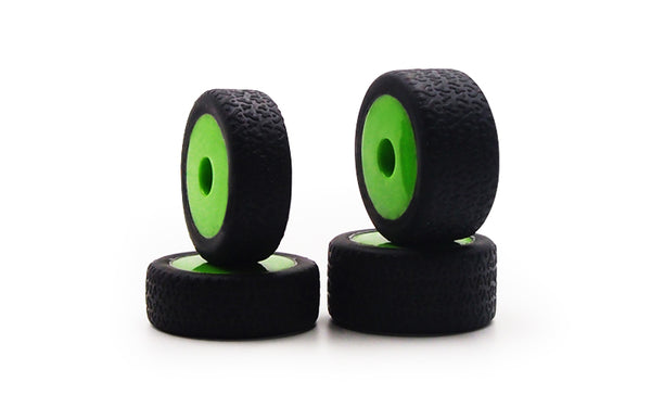 GT24 B Green Wheels & Pre-mounted Tyres (x4)