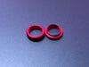 GTB Super Limited Edition Red Anodized Shock Adjuster Collar (x2)
