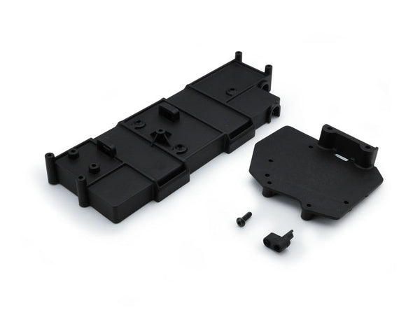 SCA-1E Rear Battery Box + ESC Mount Plate