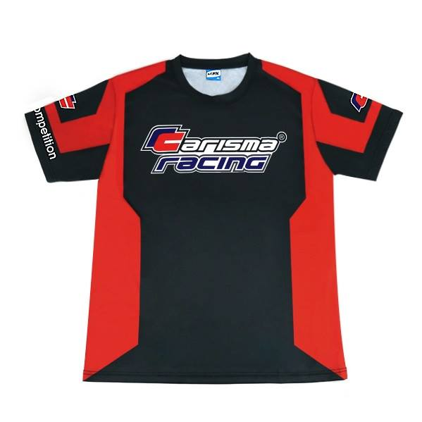 Carisma Racing T-Shirt Black & Red