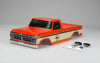 SCA-1E 1976 FORD F-150 Pre Painted Body (Orange) 324mm