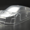 M40 Licensed Audi R8 190mm 1/10th Clear/Unpainted Lexan Body Set